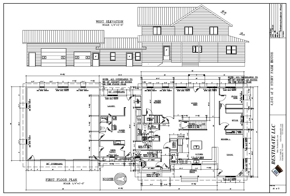 Residential bestimate llc for Amish floor plans