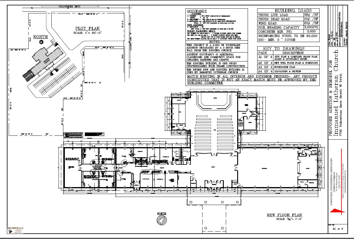 Churches bestimate llc for Marshfield homes floor plans